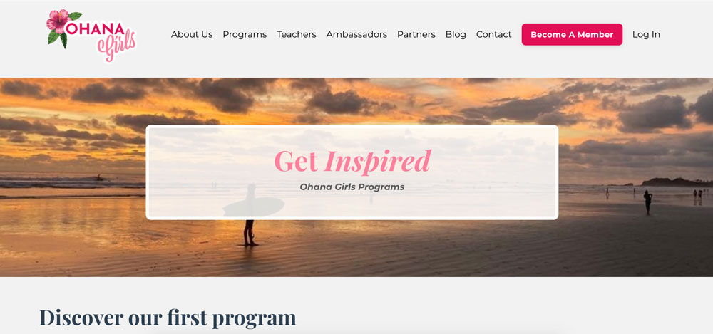 Ohana Girls Project website