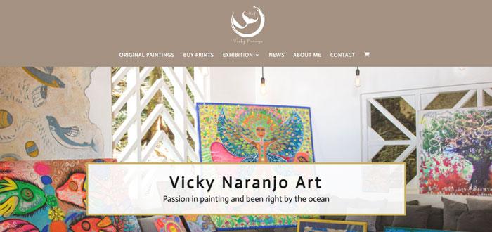 Vicky Naranjo Art website