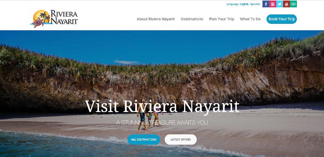 riviera nayarit website